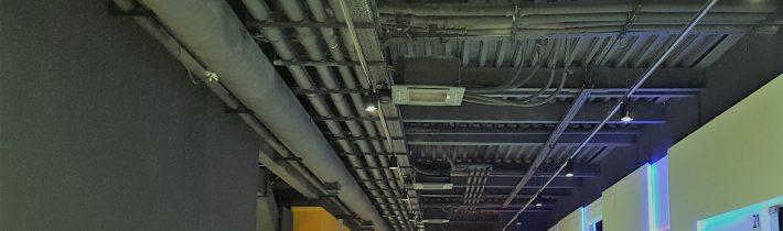 Завершены монтаж наладка оборудования климатических систем  Центра науки и спорта»БЕЗ ПРЕДЕЛА»