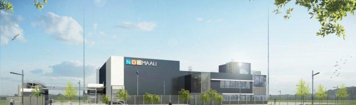 Монтаж технологического оборудования на заводе Нор-Маали